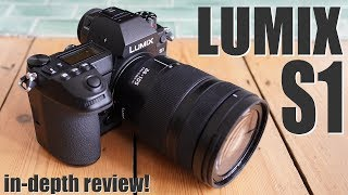 Panasonic Lumix S1 review - BEST pro mirrorless?