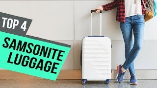 4 Best Samsonite Luggage 2019 Reviews