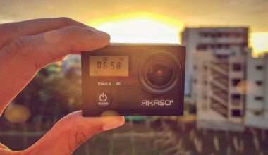 GoPro Alternative - AKASO Brave 4 4K Camera