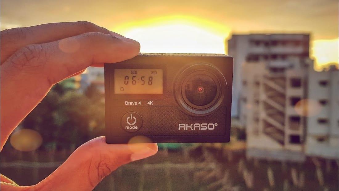 GoPro Alternative - AKASO Brave 4 4K Camera