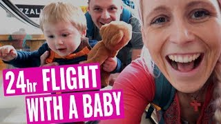 Flying to Japan- Tips and Tricks such as the Baby Seat Map