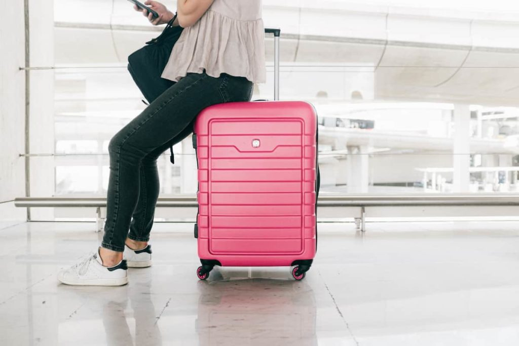 different styles of luggage