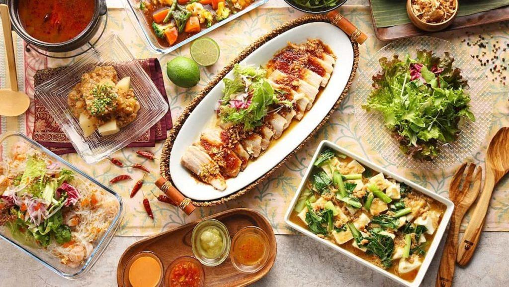 Asian Cuisine Menu